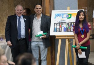 Desenhos do concurso Wizo são premiados em cerimônia marcada por criações impecáveis