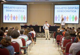 #GestãoDemocrática: minuta de Lei é debatida e revisada em encontro estadual