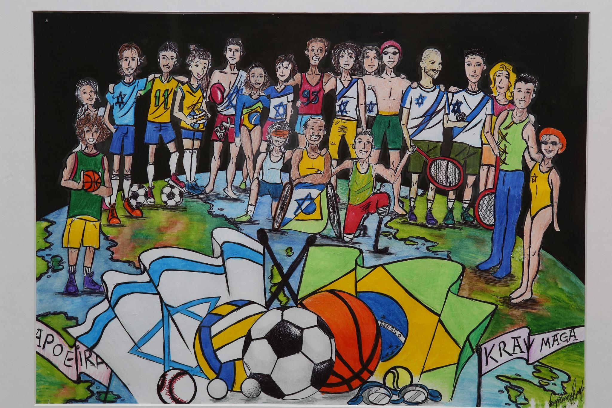 Alunos Vencedores Do Concurso De Pintura E Desenho Wizo Serao
