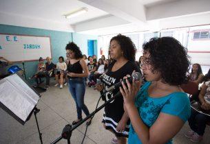 #Natal: alunos inovam projeto de coral natalino com novos ritmos