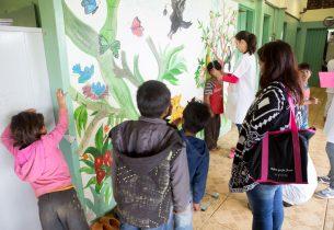 Nutricionistas visitam escolas indígenas para realizar antropometria dos alunos