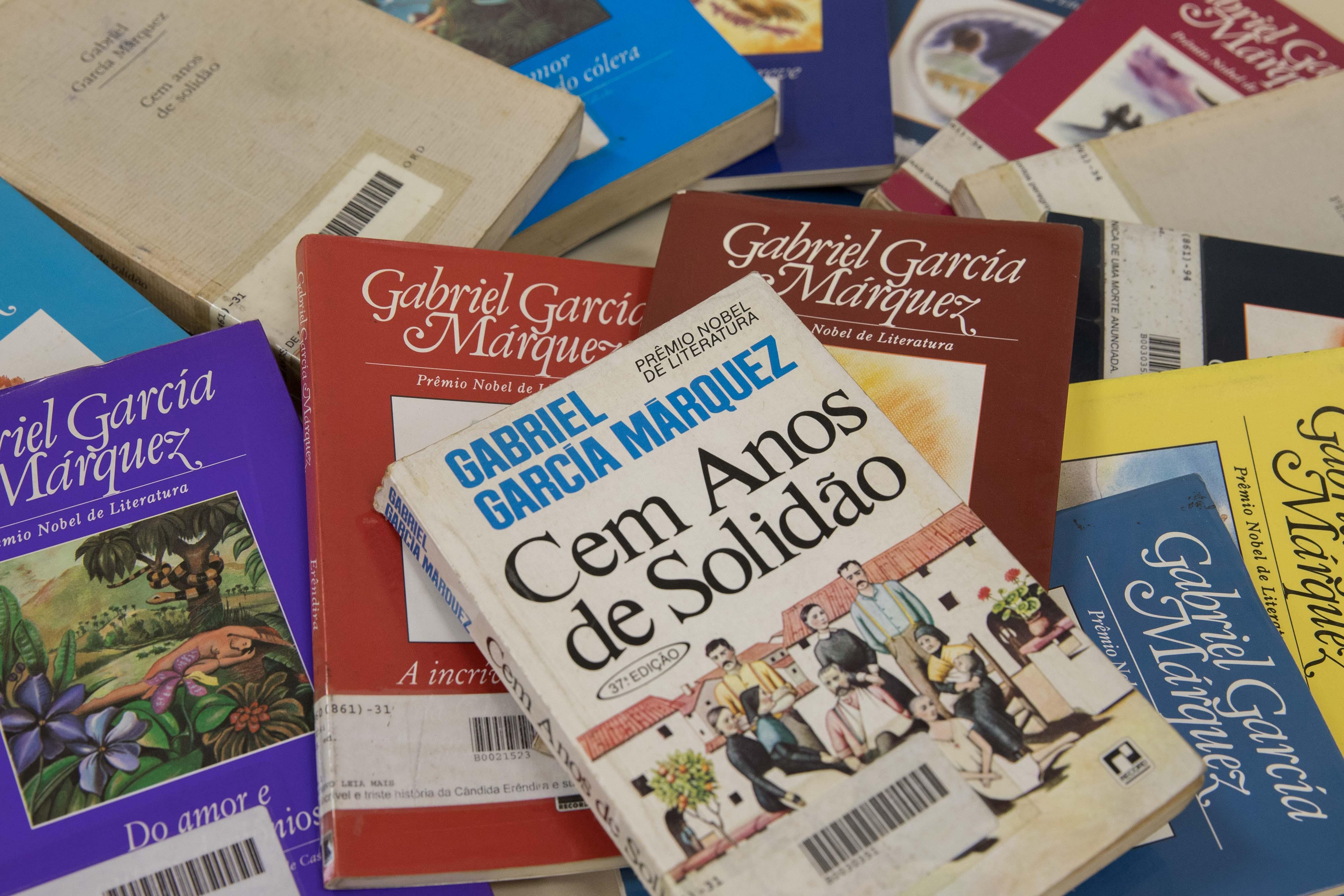 São Paulo, 06/03/2018- Fotos de livros de Gabriel Garcia Marquez. Foto: Governo do Estado de São Paulo