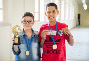 Vencedores da 5ª Feira de Ciências da rede