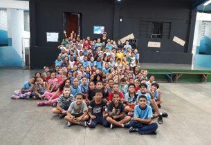 Escola realiza programação especial em comemoração ao Dia Mundial da Atividade Física