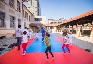 Programa Escola da Família agita o fim de semana na escola Marechal Deodoro