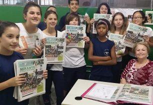 Extra! Extra! Jornalistas mirins estreitam laços entre escola e comunidade