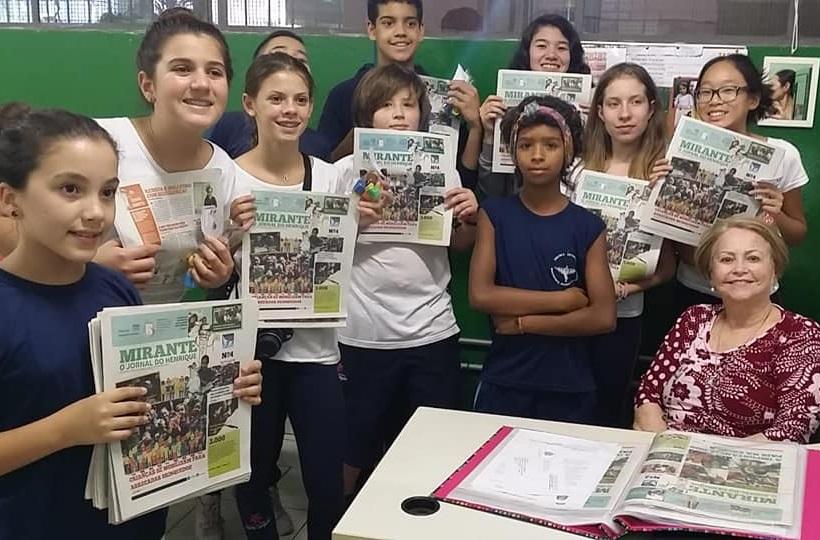 Alunos desenvolvem jornal da escola e aproximam comunidade escolar