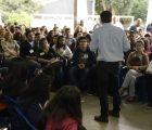 O secretário João Cury continua percorrendo várias regiões do Estado para reforçar o dialogo com alunos, professores e gestores. E Guarulhos foi o ponto de encontro desta sexta-feira (15). https://bit.ly/2JEXizz