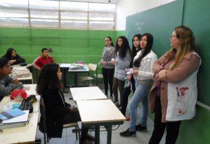 Escola de Americana realiza palestra de orientação sobre o Covid-19
