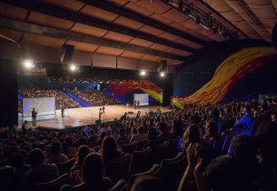 Na capital, 1,8 mil alunos gremistas discutem 'protagonismo juvenil'