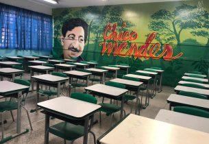 Em Guarulhos, grafites empolgam e incentivam aprendizado dos alunos