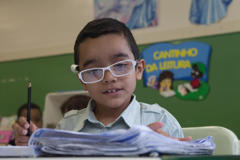 3b4cb3863 #VisãoDoFuturo: 10 indícios de que o seu filho precisa usar óculos -  Secretaria da Educação do Estado de São Paulo