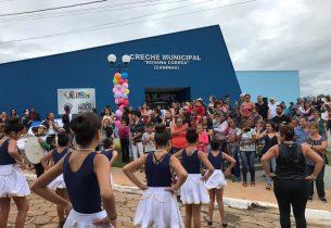 Barão de Antonina recebe unidade do Creche Escola