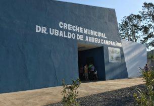 Programa Creche Escola entrega unidade em Bananal
