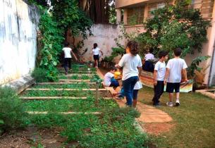 Escola de São Paulo promove degustação com alimentos produzidos na Horta Educativa