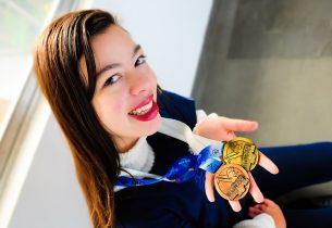 Estudante da rede em Diadema é medalha de ouro no México e Japão