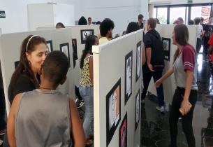 Dia de artista: Diretoria de São Carlos promove Vernissage com obras de estudantes