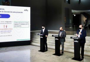 Governo de SP anuncia novo plano de ampliação da retomada das aulas presenciais para agosto