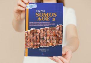 Agente de organização escolar lança livro contando trajetórias destes profissionais nas escolas estaduais