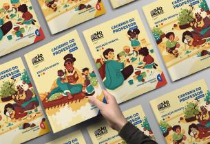 Educação SP entrega mais de 117 mil Cadernos do Professor da Educação Infantil nas redes municipais de ensino