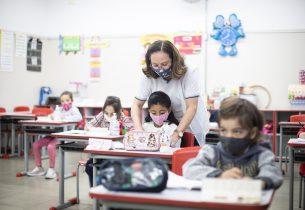 A escola está de volta: São Paulo determina retorno total dos alunos às salas de aula