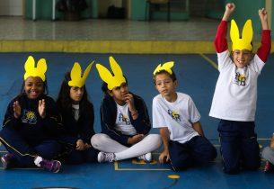#Páscoa: Escola de Taubaté comemora data com projeto social