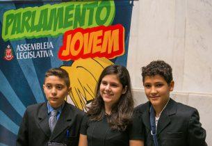 Parlamento Jovem recebe inscrições de alunos de SP até dia 9 de março