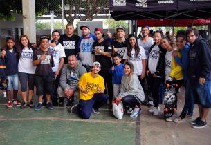 #13AnosDeEscolaDaFamília: esporte é um dos eixos norteadores do programa