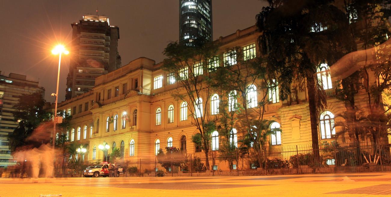 Edifício Caetano de Campos, atual sede da Educação