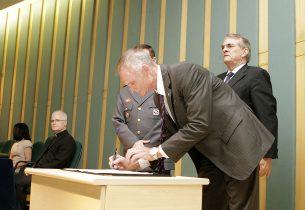 Assinatura e Homenagen Proerd