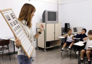 Retrospectiva: Visão do Futuro realiza exames oftalmológicos em alunos da rede