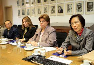 Educação recebe comitiva japonesa da província de Toyama