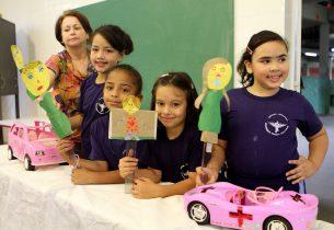 Programa Escola da Família promove ações para o Maio Amarelo