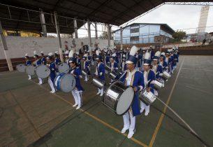 Banda de escola estadual participa de Desfile Cívico Militar