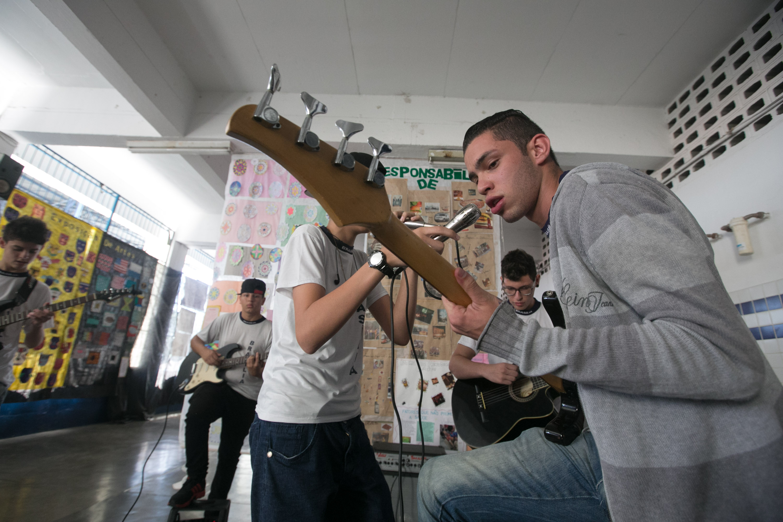 Festival de música estimula participação de estudantes no Saresp